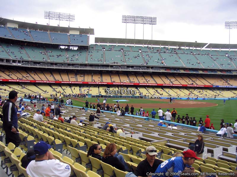 Dodger Stadium Section 44 Rateyourseatscom