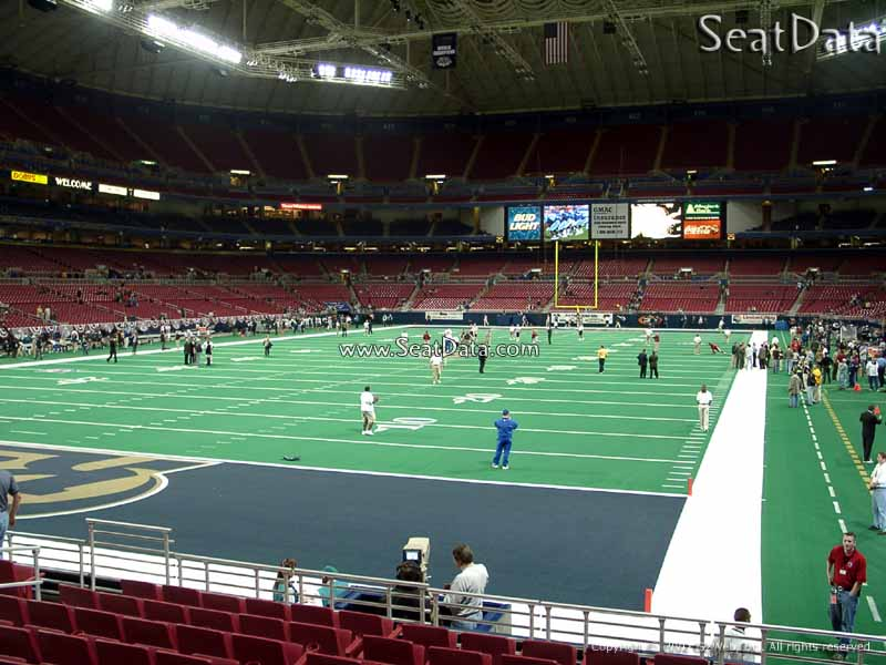 Edward Jones Dome Section 152 Seat View