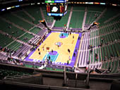 Seat View for Vivint Smart Home Arena Section 120