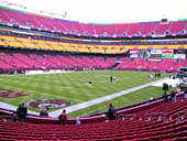 Seat View for FedExField Section 128