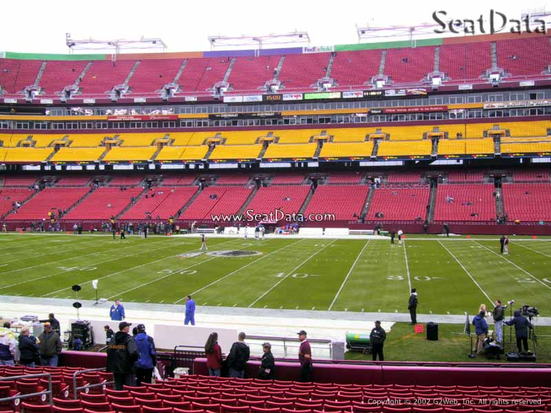 FedExField Section 141 View