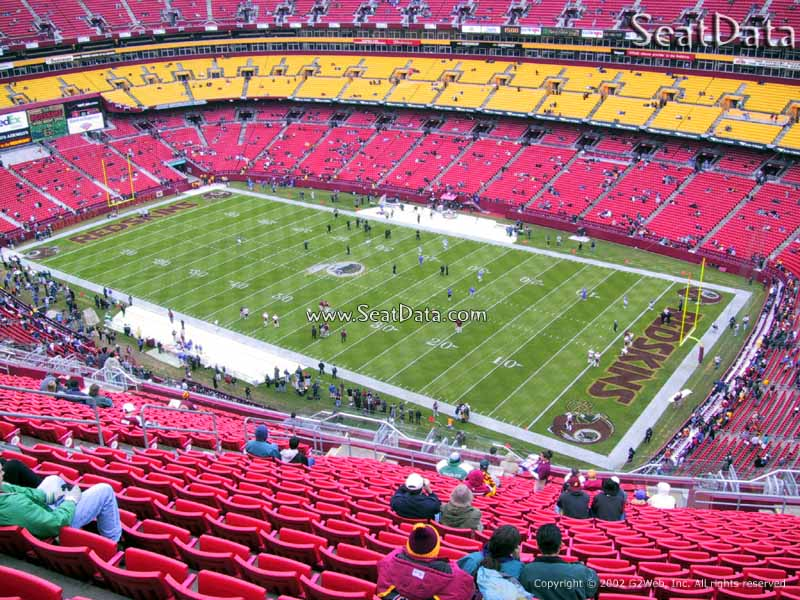 FedExField Section 449 Seat View