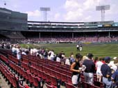 Seat View for Fenway Park Field Box 3