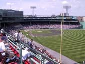 Seat View for Fenway Park Roof Box 37