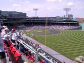 Seat View for Fenway Park Roof Box 43