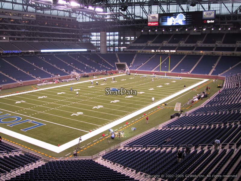 North Side Ford >> Ford Field Section 223 - Detroit Lions - RateYourSeats.com