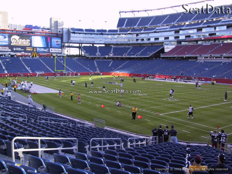 Gillette Stadium Seat View Section 103 | Brokeasshome.com