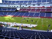 New England Patriots Seat View for Gillette Stadium Section 108