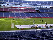New England Patriots Seat View for Gillette Stadium Section 111