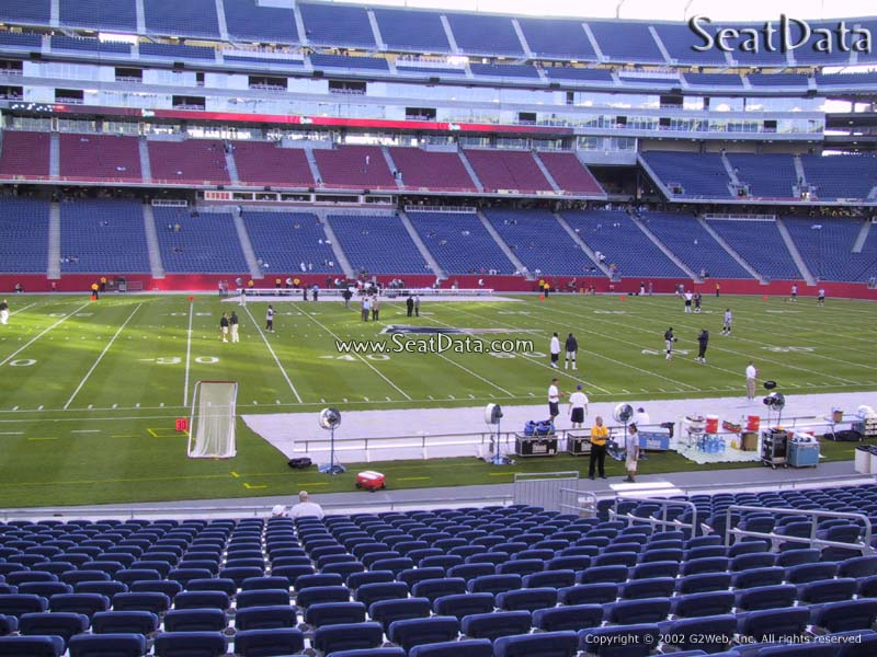 Home Field New England Patriots Located