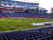 New England Patriots Seat View for Gillette Stadium Section 113