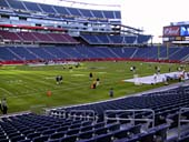 New England Patriots Seat View for Gillette Stadium Section 114