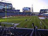 New England Patriots Seat View for Gillette Stadium Section 119