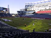 New England Patriots Seat View for Gillette Stadium Section 125