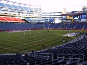 New England Patriots Seat View for Gillette Stadium Section 138
