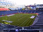 New England Patriots Seat View for Gillette Stadium Section 240