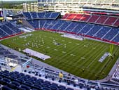 New England Patriots Seat View for Gillette Stadium Section 326