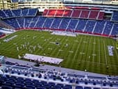 New England Patriots Seat View for Gillette Stadium Section 329