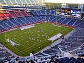 New England Patriots Seat View for Gillette Stadium Section 339