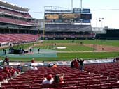 Section 128 seat view