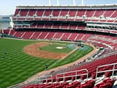 Seat View for Great American Ball Park Section 411