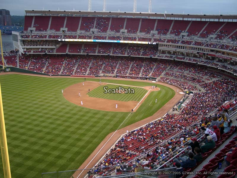 Great American Ball Park Section 509 Cincinnati Reds