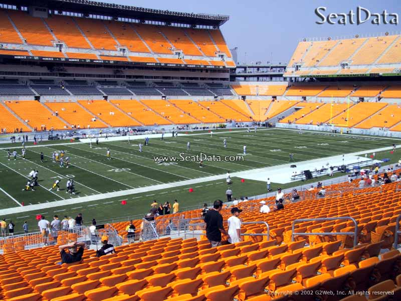 Seat View for Heinz Field Section 207