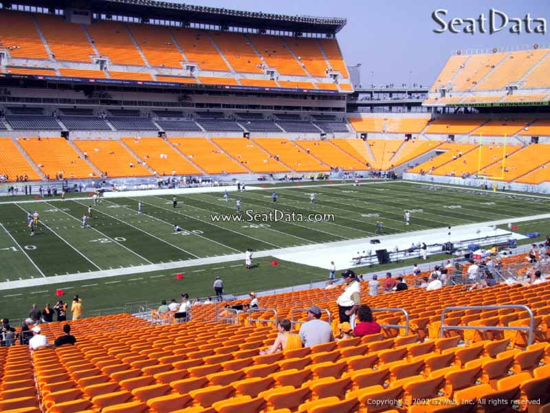 Which Seats Other Than Club Are Covered In Heinz Field