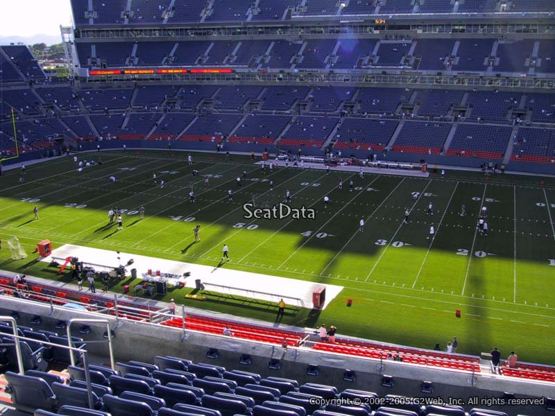 Broncos Stadium Section 334 - RateYourSeats.com