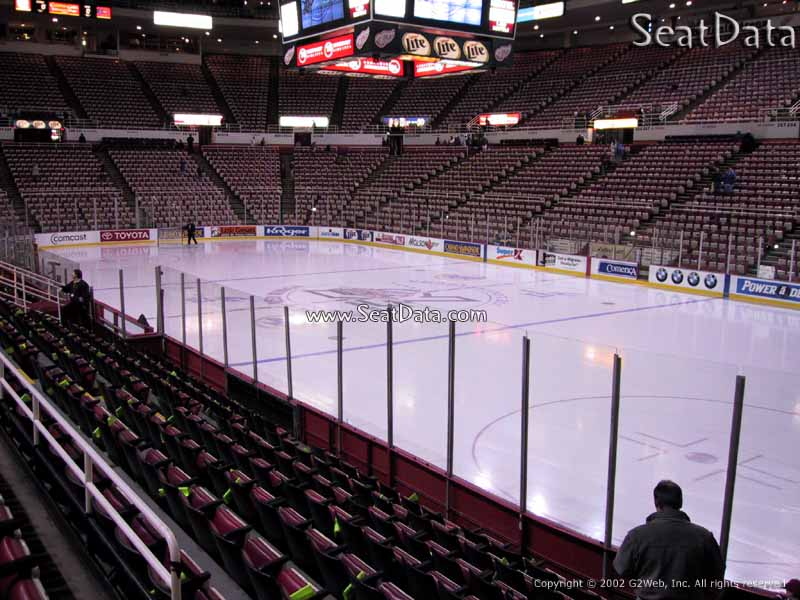 Joe Louis Arena Section 118 Rateyourseats Com