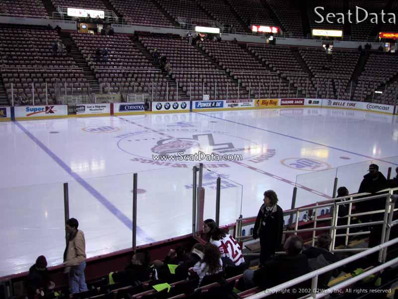 Joe Louis Arena Section 123 Rateyourseats Com