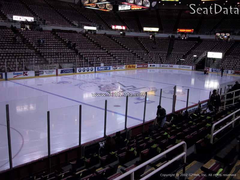 Joe Louis Arena Section 124 Rateyourseats Com