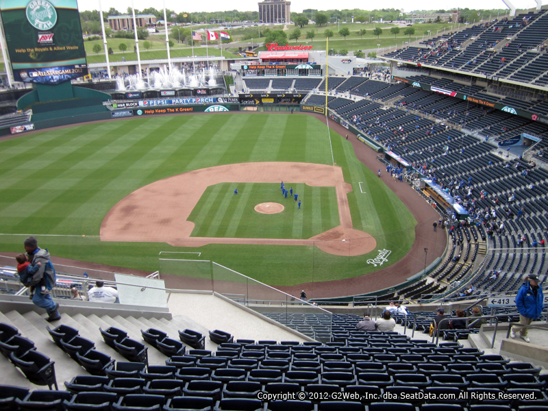 Kauffman Stadium Section 413 - RateYourSeats.com
