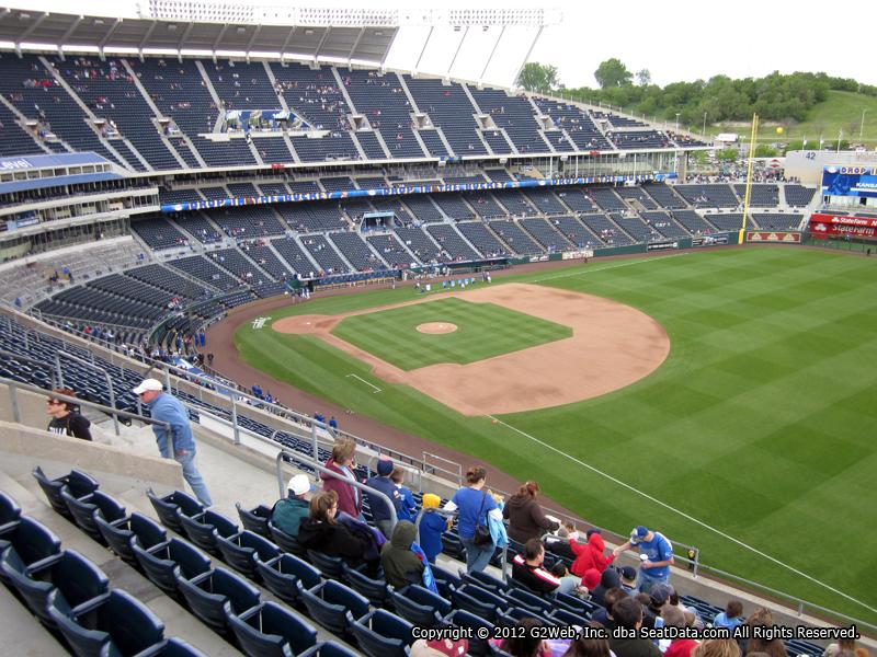 Kauffman Stadium Section 437 - RateYourSeats.com