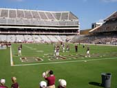Seat View for Kyle Field Section 133
