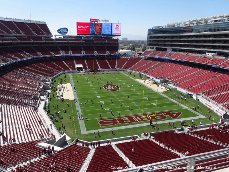 Section 122 levis stadium webcam