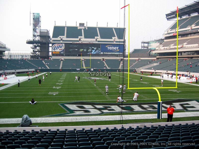 Philadelphia Eagles Lincoln Financial Field Section 110