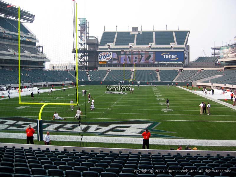 Lincoln Financial Field Section 111 Philadelphia Eagles
