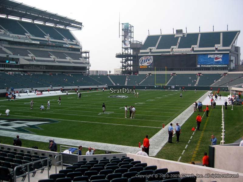 Lincoln Financial Field Section 113 Philadelphia Eagles