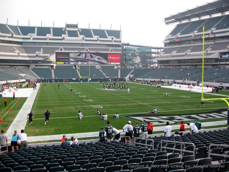 Lincoln Financial Field Section 128 Philadelphia Eagles
