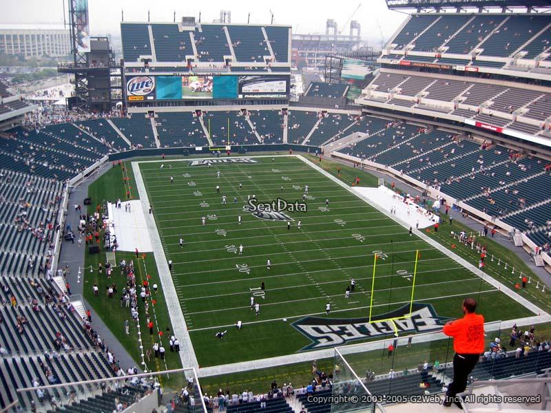 Lincoln Financial Field Section 209 Philadelphia Eagles