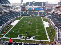 Seat View for Lincoln Financial Field Section 213