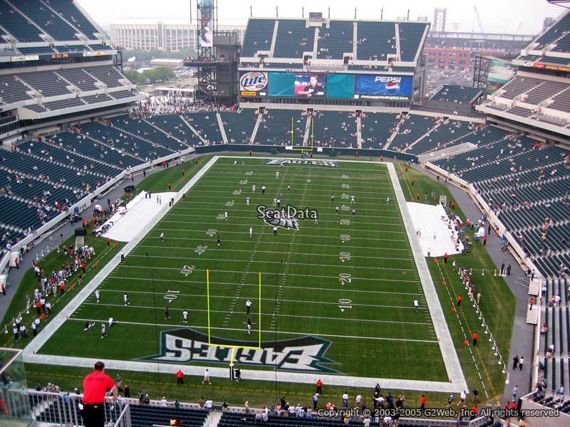 Lincoln Financial Field Section 213 Philadelphia Eagles
