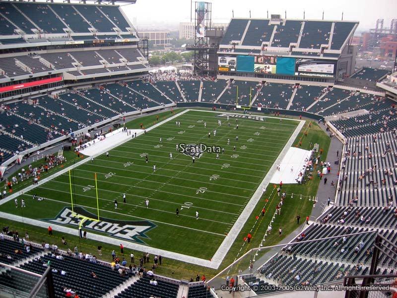Lincoln Financial Field Section 216 Philadelphia Eagles