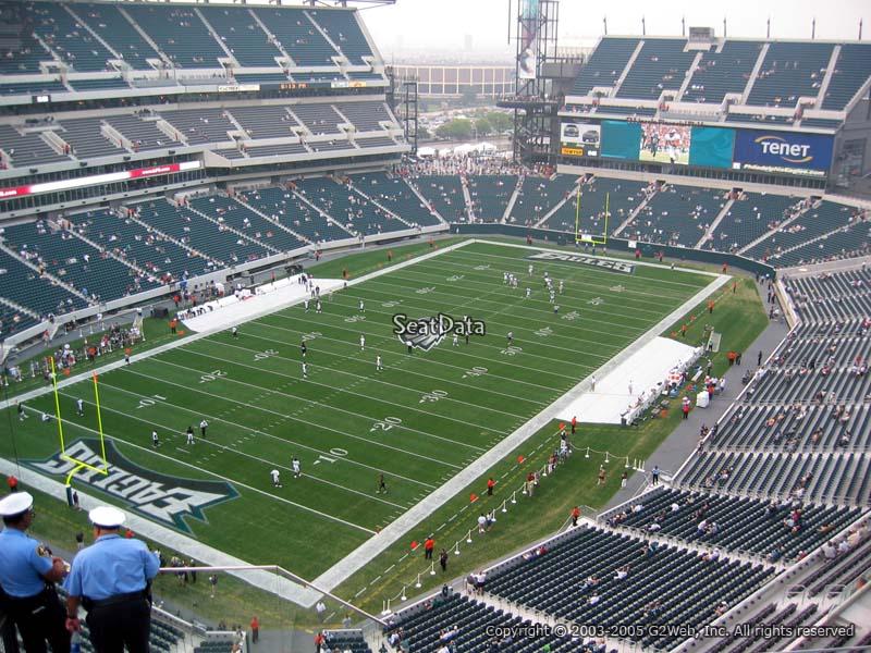 Philadelphia Eagles Lincoln Financial Field Section 218