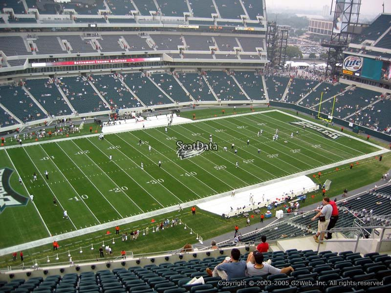 Lincoln Financial Field Section 221 Philadelphia Eagles