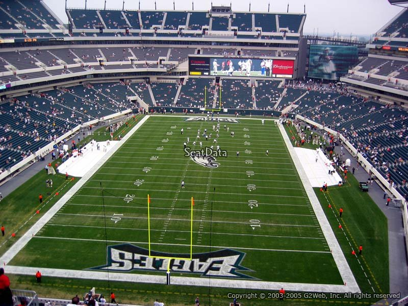 Lincoln Financial Field Section 236 Philadelphia Eagles