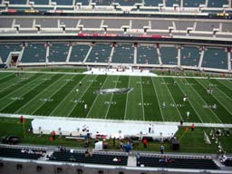 Seat View for Lincoln Financial Field Section C1