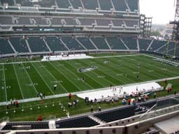 Seat View for Lincoln Financial Field Section C19