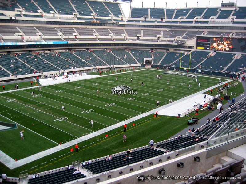 Lincoln Financial Field Section C35 Philadelphia Eagles